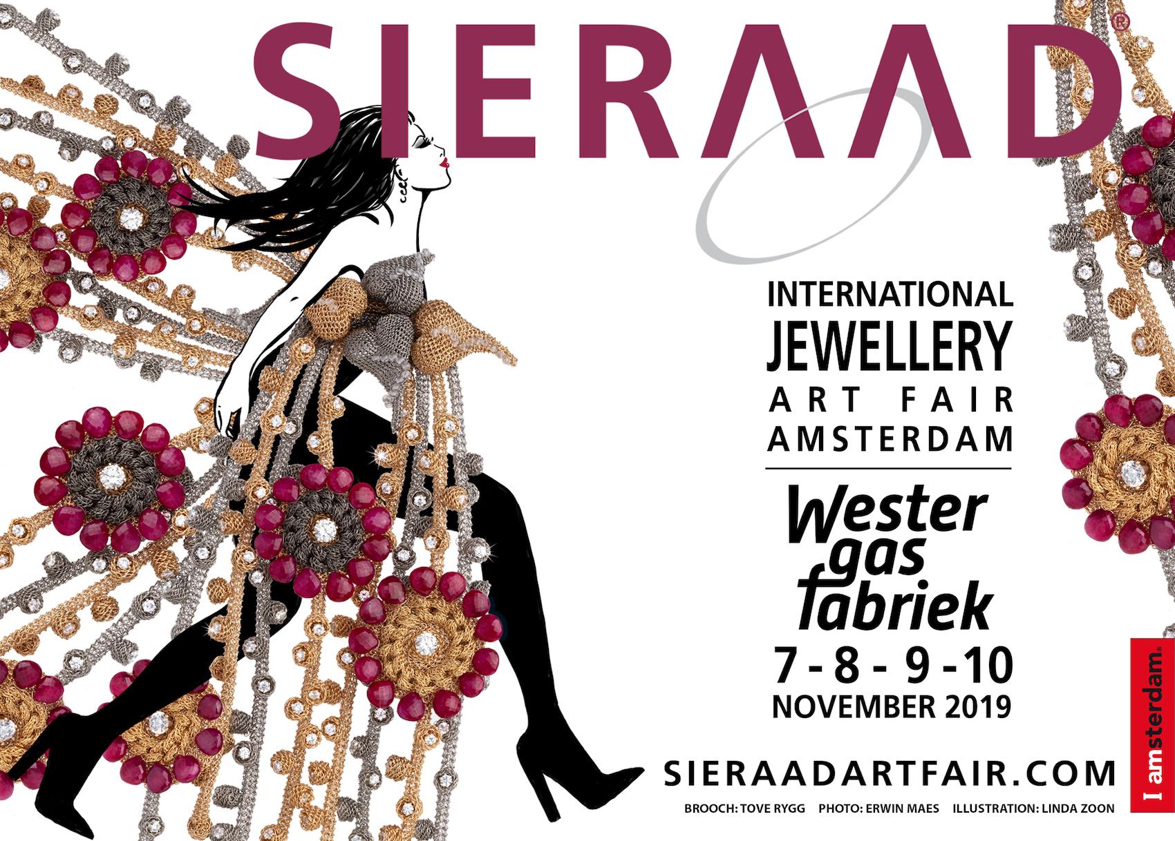 International Jewellery Art Fair Amsterdam, où nous avonsété sélectionnés