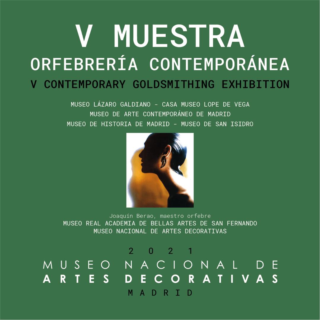Sélection de Quintessenz B au 5e salon de bijouterie contemporaine de Madrid, au Musée National des Arts Decoratifs du 4 février au 11 avril 2021